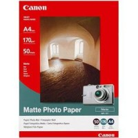 Genuine Canon A4 170gsm Matte Photo Paper 50 Pack