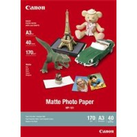 Genuine Canon A3 170gsm Matte Photo Paper 40 Pack