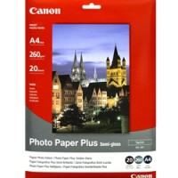 Genuine Canon A4 260gsm Semi-Gloss Photo Paper 20 Pack
