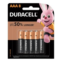Duracell Coppertop Alkaline AAA Battery - 8 Pack