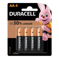 Duracell Coppertop Alkaline AA Battery - 4 Pack