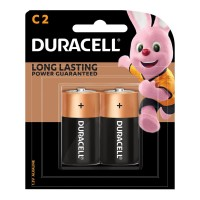 Duracell Coppertop Alkaline C Battery - 2 Pack