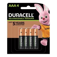 Duracell Rechargeable AAA Battery - 4 Pack