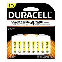Duracell Hearing Aid Size 10 Battery - 8 Pack