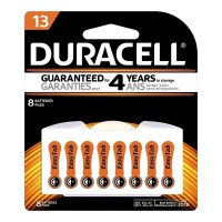 Duracell Hearing Aid Size 13 Battery - 8 Pack