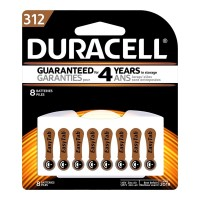 Duracell Hearing Aid Size 312 Battery - 8 Pack