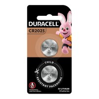 Duracell Lithium Coin CR2025 Battery - 2 Pack