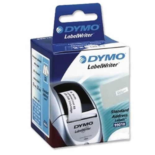 Genuine dymo address label 28mm x 89mm white roll 130 pkt 2 for Dymo label sizes