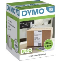 Genuine Dymo 104mm x159mm Shipping Label Tape