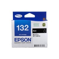 Genuine Epson 132 Black Ink Cartridge