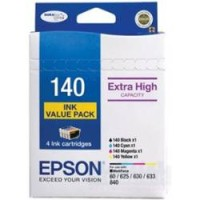Genuine Epson 140 Extra High Yield Ink Cartridge Value Pack