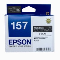 Genuine Epson 157 T1571 Photo Black Ink Cartridge - R3000