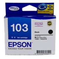 Genuine Epson 103 T1031 Extra High Yield Black Ink Cartridge