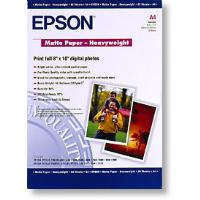 Genuine Epson A4 167gsm Matte Heavyweight Paper 50 Pack - C13S041256