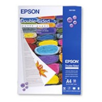 Genuine Epson A4 178gsm Double-Sided Matte Paper Pkt 50