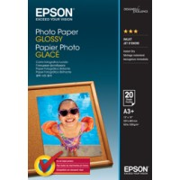 Genuine Epson A3+ Glossy Photo Paper 20 Pack - C13S042535