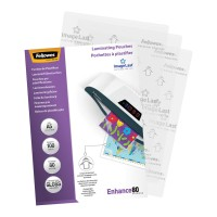 Fellowes Laminating Pouches A5 Gloss 80 micron 100 pack