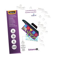 Fellowes Laminating Pouches A3 Gloss 80 micron - 100 pack