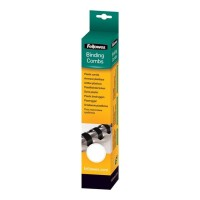 Fellowes Plastic Binding Combs White 10 mm - 25 Pack