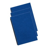 Fellowes Binding Covers A4 250 gsm Royal Blue -100 pack