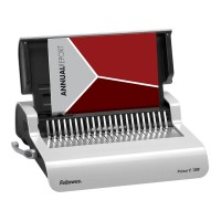 Fellowes Pulsar-E 300 Plastic Comb Binding Machine