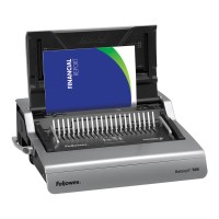 Fellowes Galaxy-E 500 Plastic Comb Binding Machine
