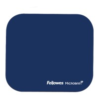 Fellowes Microban Mouse Pad - Navy