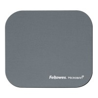 Fellowes Microban Mouse Pad - Silver