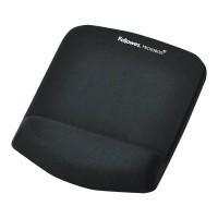 Fellowes PlushTouch Wrist Support Mouse Pad - Black