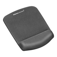 Fellowes PlushTouch Mouse Pad with Wrist Rest - Graphite