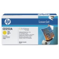 Genuine HP 504A Yellow Toner CE252A - LaserJet CP3520 CM3530