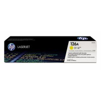 Genuine HP 126A Yellow Toner CE312A - LaserJet CP1025