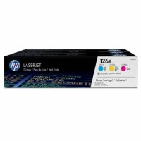 Genuine HP 126A Colour Toner Tri-Pack (126A X 3)