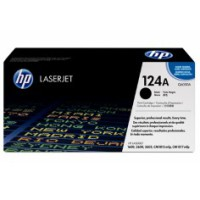 Genuine HP 124A Black Toner Q6000A - LaserJet 1600 2600