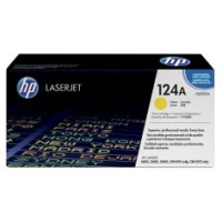 Genuine HP 124A Yellow Toner Q6002A - LaserJet 1600 2600