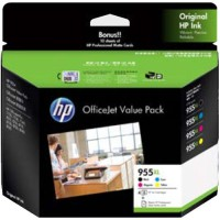 Genuine HP 955XL Hi-Yield Value Pack - 2PD46A