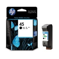 Genuine HP 45 Black Ink Cartridge - 51645AA