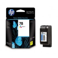 Genuine HP 78 Tri-Colour Ink Cartridge - C6578DA