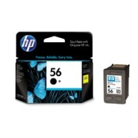 Genuine HP 56 Black Ink Cartridge - C6656AA