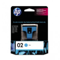 Genuine HP 02 Cyan Ink Cartridge - C8771WA