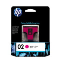Genuine HP 02 Magenta Ink Cartridge - C8772WA
