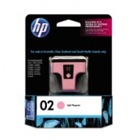 Genuine HP 02 Light Magenta Ink Cartridge - C8775WA