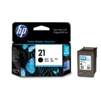 Genuine HP 21 Black Ink Cartridge - C9351AA