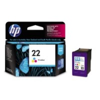 Genuine HP 22 Tri Colour Ink Cartridge - C9352AA