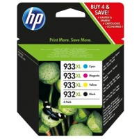 Genuine HP 932XL/933XL High Yield Value Pack - T0A80AA