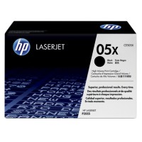Genuine HP 05X High Yield Black Toner CE505X - LaserJet P2055