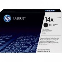 Genuine HP 14A Black Toner CF214A - M712 and M725