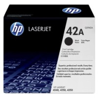 Genuine HP 42A Black Toner Q5942A - LaserJet 4250 4350