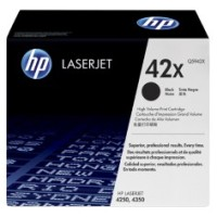 Genuine HP 42X High Yield Toner Q5942X - LaserJet 4250 4350