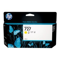 Genuine HP 727 130ml Yellow Ink Cartridge - B3P21A